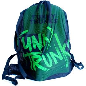 Funky Trunks Mesh Gear Bag Still Black